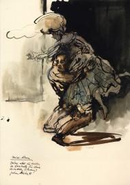 »Balzac rettet die Fürstin de Lamballe für seine Geschichten (2. Fassung)« Jochen Stücke