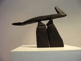 »Balanceakt«Bronze | 22 x 29 x 3 cm