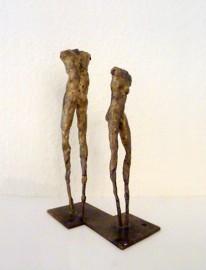 »Figurenpaar« Bronze | Höhe 25 cm