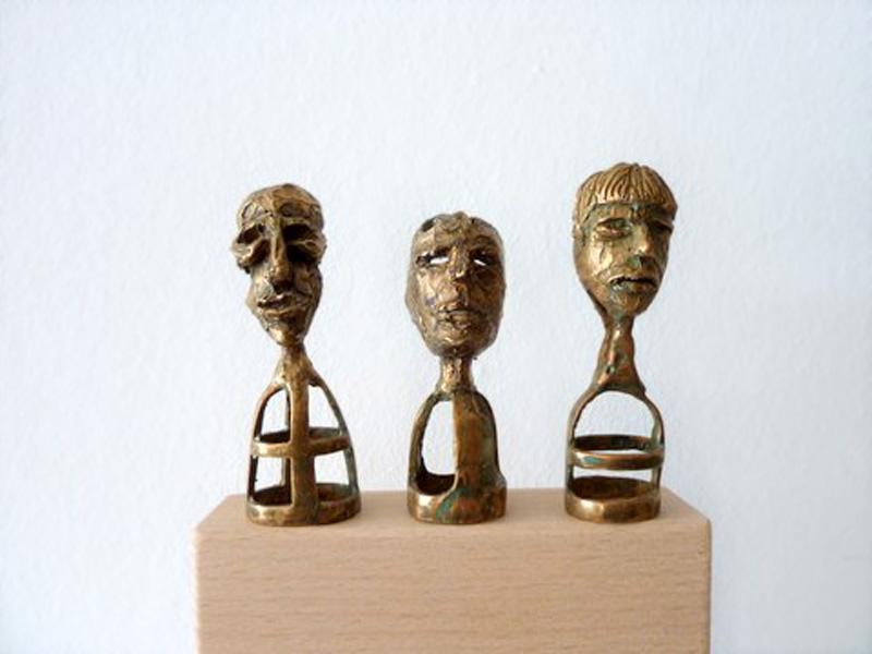 Johanna Hamm»Fingerpuppen« Bronze |  6 x 5,5 x 6,5 cm
